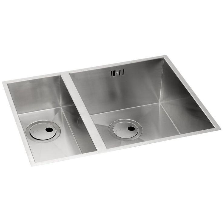 Abode Matrix R0 15 Bowl Brushed Stainless