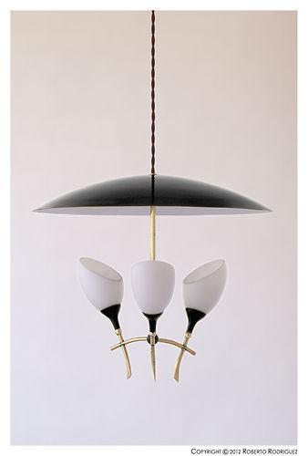 Danish Mid Century Retro Vintage 50's 60's 70's Italian Light Lamp