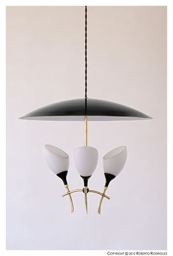 Danish Mid Century Retro Vintage 50's 60's 70's Italian Light Lamp http://www.delightfull.eu/