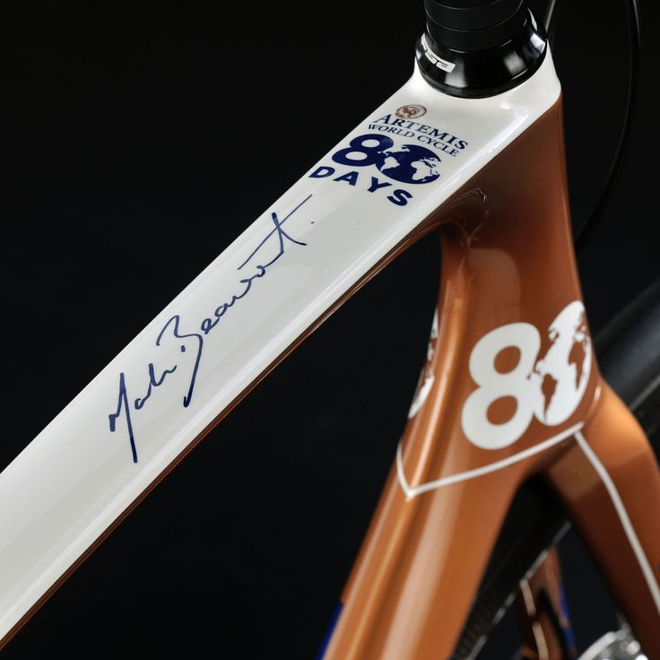 Mark Beaumont - will mit dem Fahrrad den Weltrekord knacken