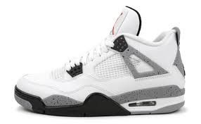 "Jordan Retro 4 ""White Cement"" - New"