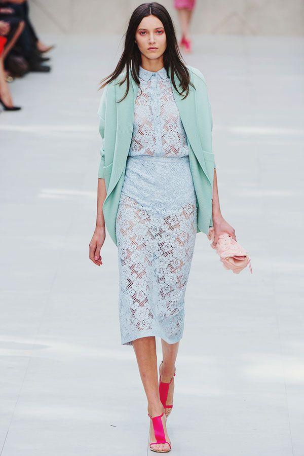 {fashion inspiration | runway : burberry prorsum s/s 2014, london}