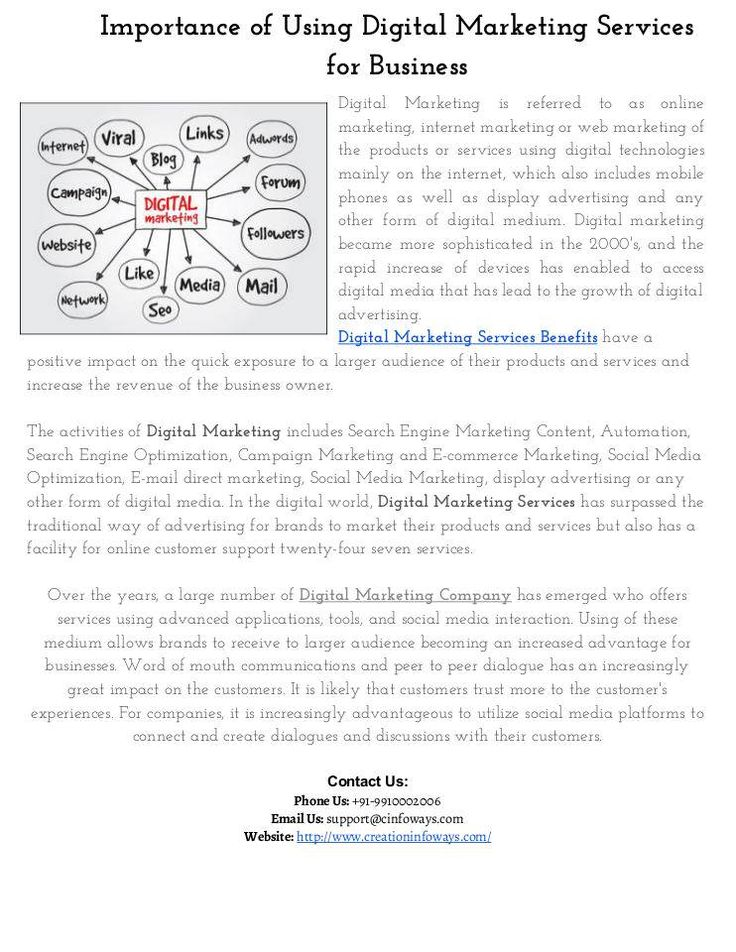 http://www.scoop.it/t/e-commerce-website-development-company/p/4068751783/2016/09/07/importance-of-using-digital-marketing-services-for-business