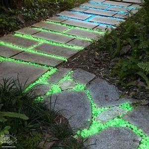 Glow-in-the-Dark Garden Pebbles