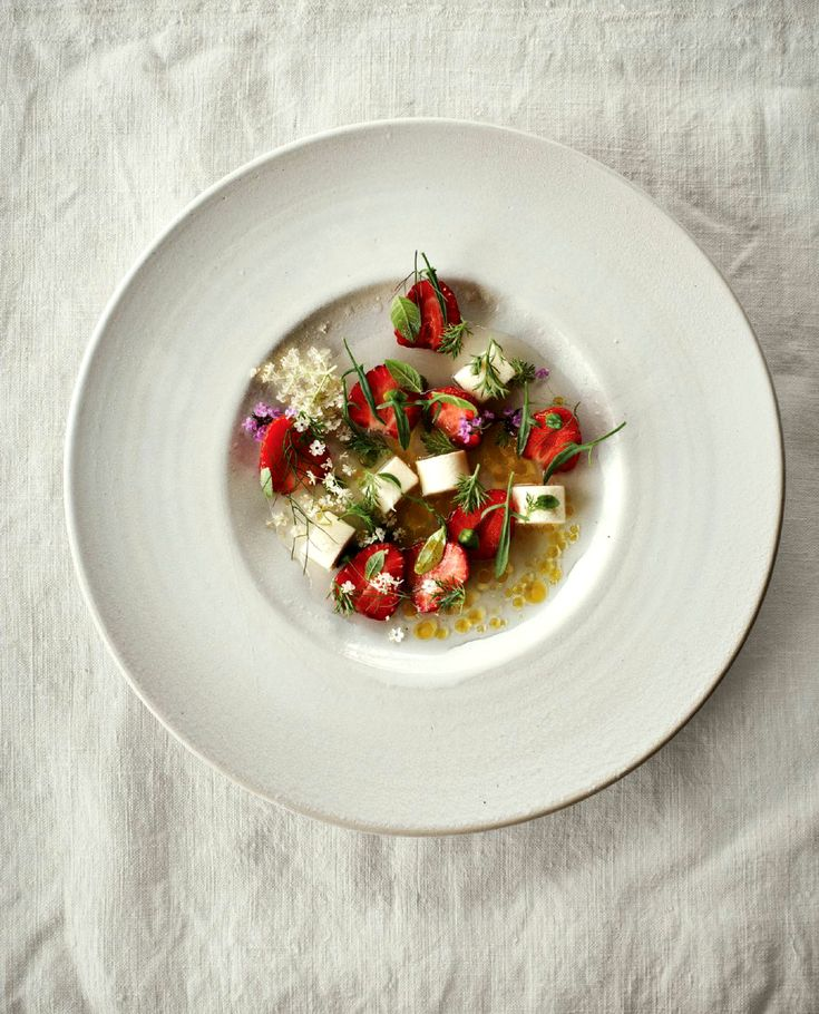 Strawberry and chamomile recipe by Noma's chef René Redzepi - Classy intelligence