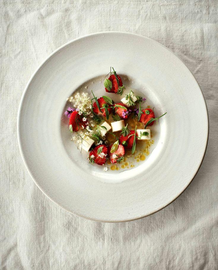 Strawberry and chamomile recipe by Noma's chef René Redzepi - Classy intelligence