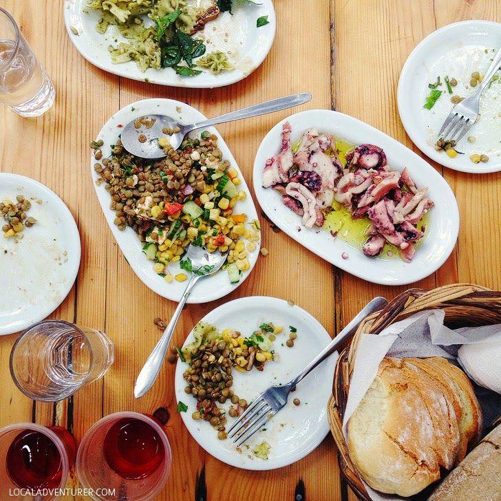 Kiki's Tavern at Agios Sostis Beach - Best Food in Mykonos