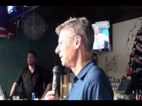 Gary Johnson meet & greet in Dunedin, Florida on July 6, 2012