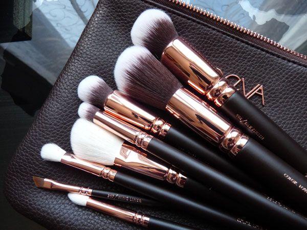 Le Rose Golden Luxury Set ZOEVA - Pinceaux