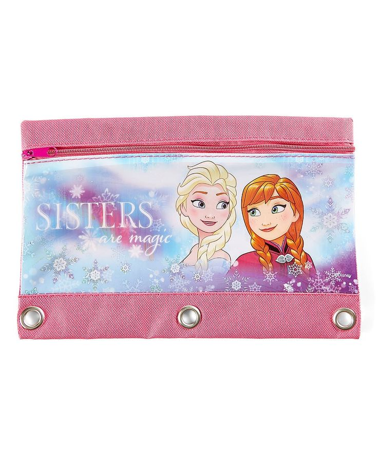 Take a look at this Frozen 'Sisters are Magic' Pencil Case today!