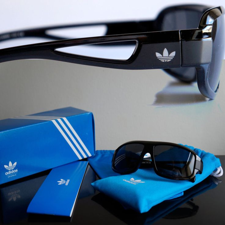 adidas Originals Locs Sunglasses Eyewear Fashion Glasses Men Black Shades Pouch