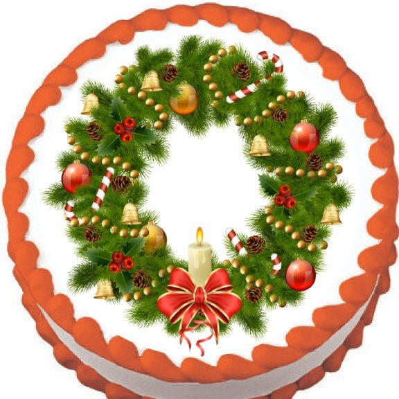 Edible Christmas Cake Images : 50 best images about Fun Christmas Cake Toppers on ...