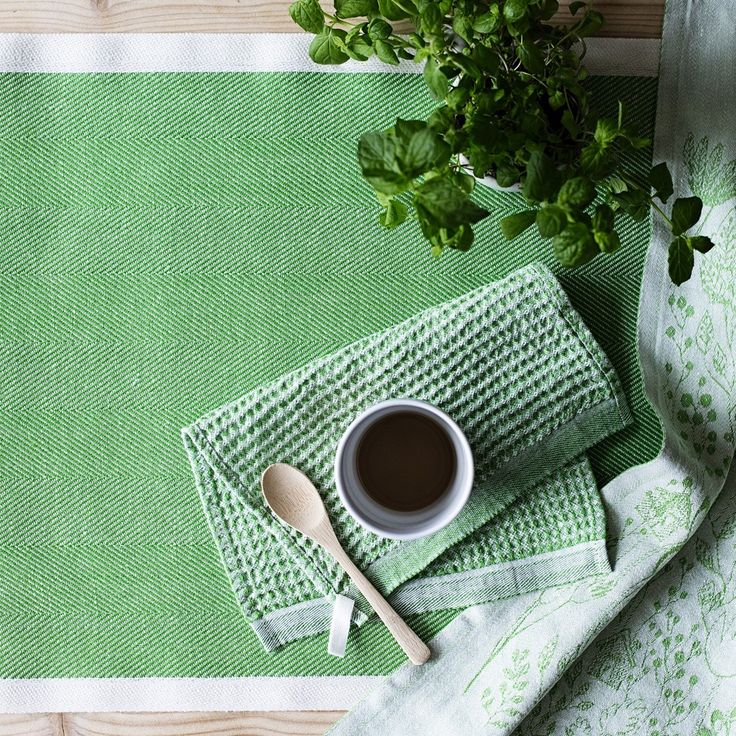 Lapuan Kankurit Maija Kitchen Cloths - not only super soft and super absorbent, they are also available in a rainbow of colours.