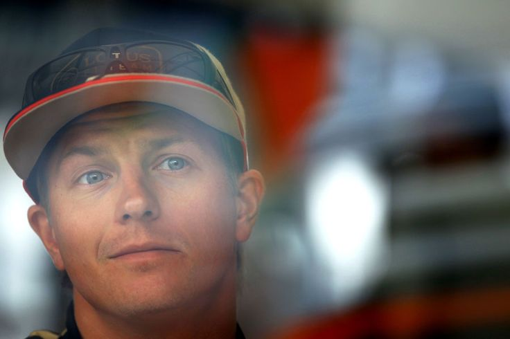 Kimi Raikkonen contemplates his next answer