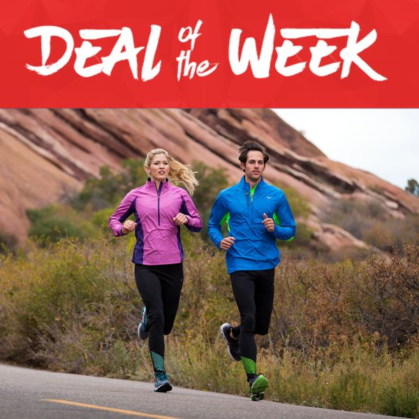 4 days left to save up to 60% on our #DEALOFTHEWEEK! Training for an upcoming marathon or local run? Now is a great time to get a new pair of select Mizuno or Saucony running shoes! Shop till 1/28.