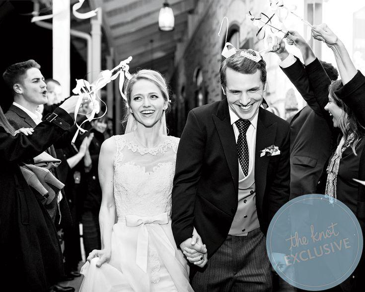 Johanna Braddy And Fred Stroma S Wedding Al Exclusive
