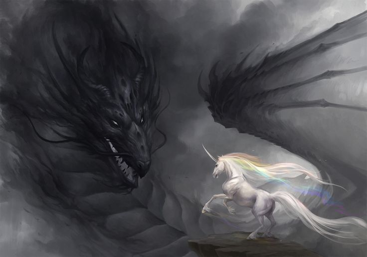 Drache by *sandara on deviantART