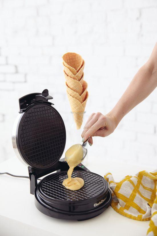DIY waffle cones   designlovefest