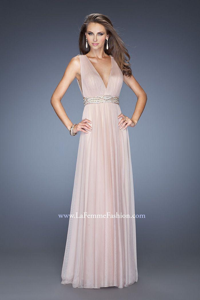 Deep v line prom dresses