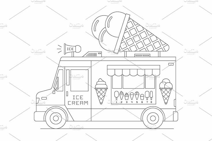 Ice Cream Truck #Ad , #Sponsored, #mobile#shop#Truck#Ice