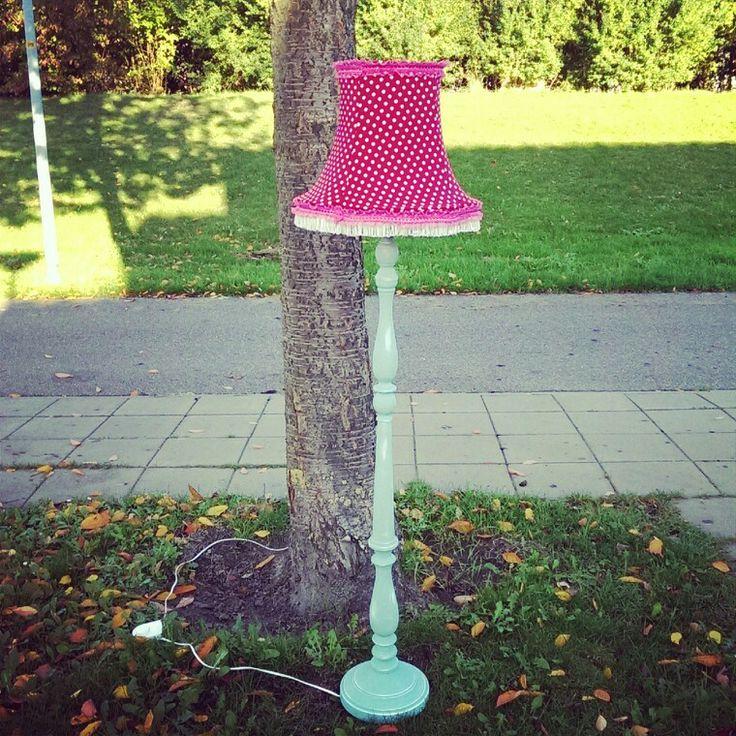 Polkadot lamp