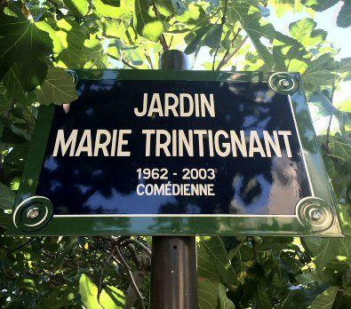 Le jardin Marie-Trintignant  (Paris 75004)