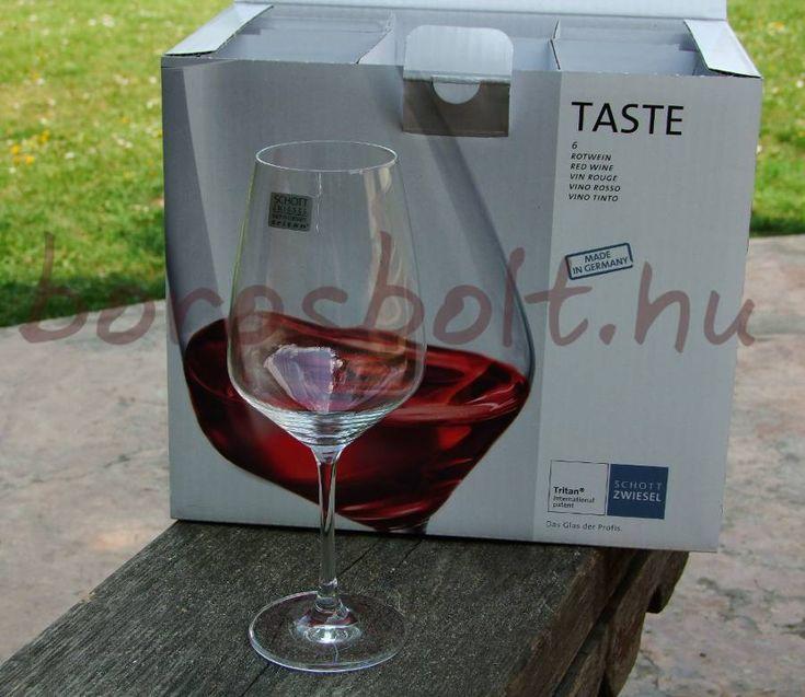 Schott Zwiesel Taste Boroskehely 497 ml,Boros Pohár, Üveg pohár, Borospoharak,ajándékötlet ajándék tippek