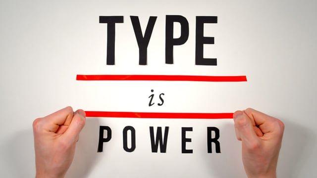 Type Is Power - The History of Typography || Ben Barrett-Forrest || http://www.dezeen.com/movies