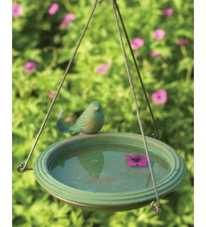 Hummingbird Water. Attracting hummingbirds with water misters and bird baths.
