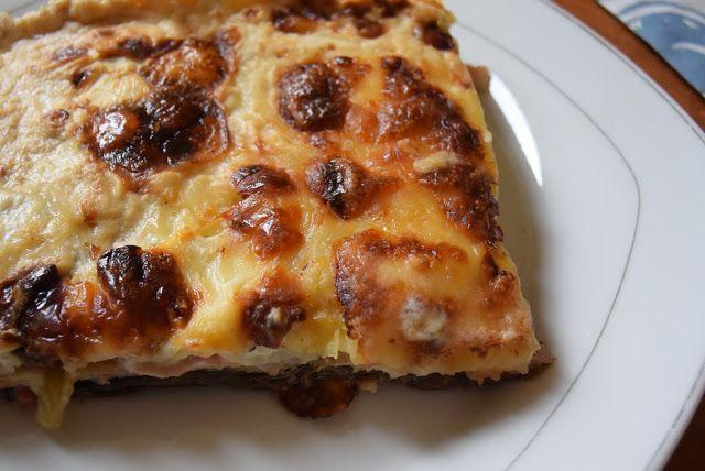 Μελιτζάνες-μπέικον-γκούντα στον φούρνο - άλλο πράγμα γεύση !