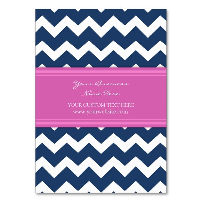 1653 best chevron zigzag business cards images on pinterest blue pink chevron retro business cards colourmoves Gallery