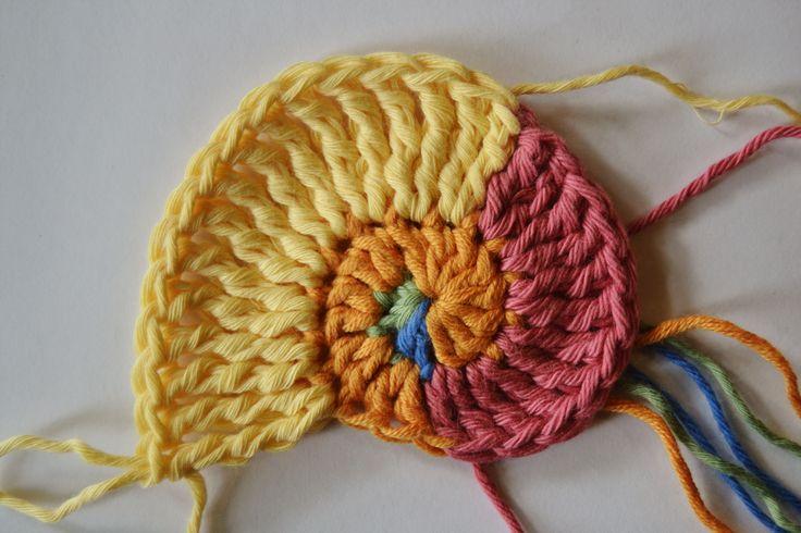 Freeform Crochet Basics, Part 5, The Nautilus Shell