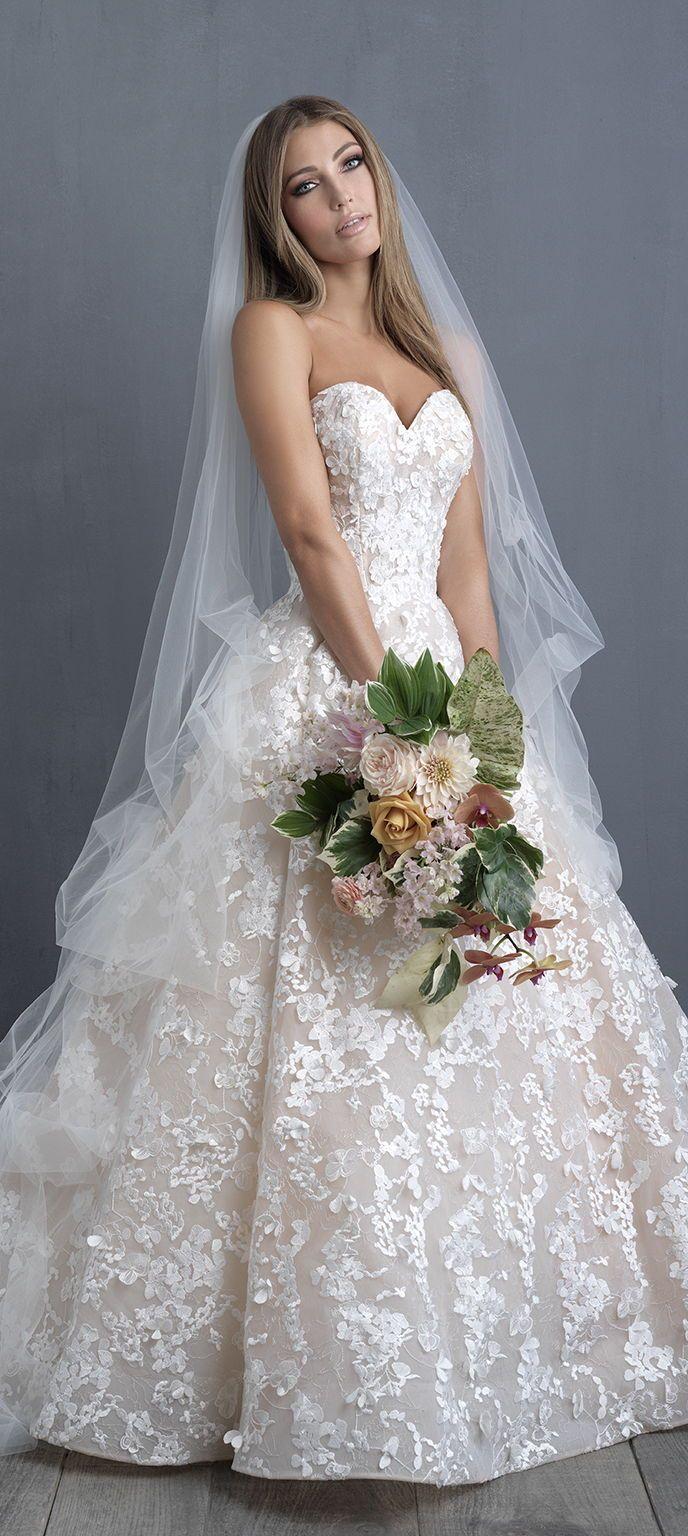 Wedding Dress by Allure Couture #weddingdresses#weddinggowns#bridaldress#bride#bridal#bridalgown#brides#weddings