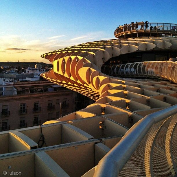 La Plaza de La Encarnación, uno de los nuevos atractivos de Sevilla.