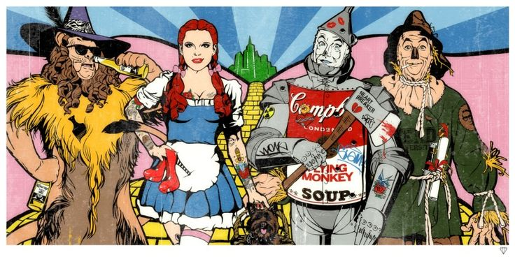Wizard of Oz Available at www.ImagesinFrames.com East London #Wanstead #Walthamstow #E11 #E17 #Awesomstow