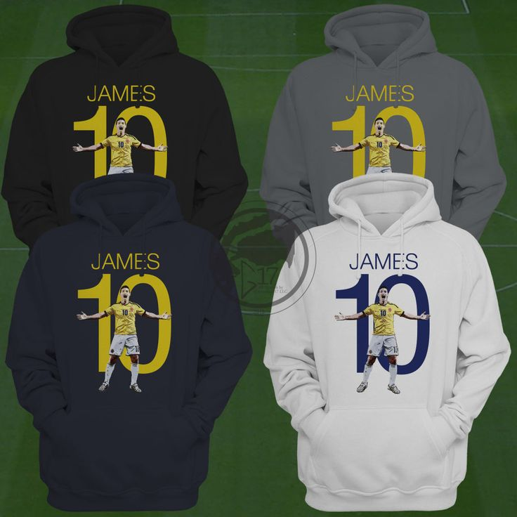 James Rodríguez Hoodie - ColombiaSoccer Sweatshirt - Size S to XXL - Custom Apparel Football, soccer, premier league, manchester united by Graphics17 on Etsy