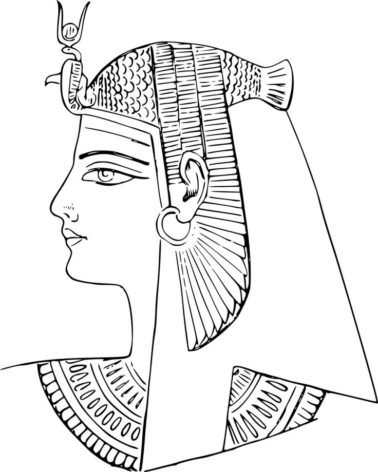 pharoah coloring pages-#2