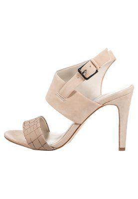 ETUNG  - Højhælede sandaletter / Højhælede sandaler - bone [599,-]
