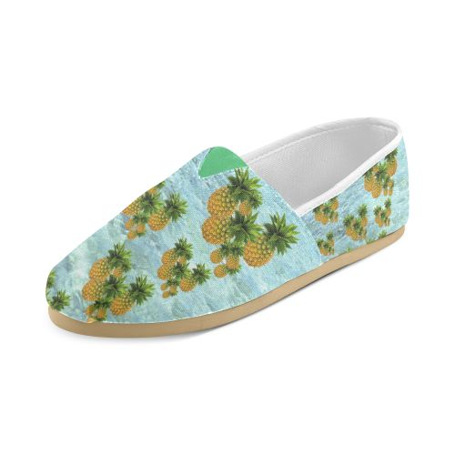 Pineapples Women's Casual Shoes. FREE Shipping. FREE Returns. #artsadd #sneakers #fruits
