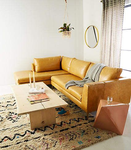 Anthropologie Edlyn Two Piece Chaise Sectional Products