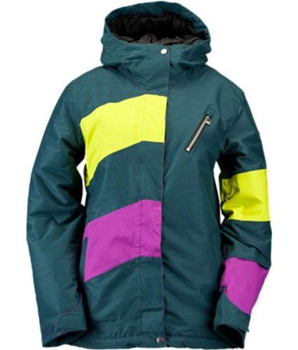 Ride Magnolia Jacket Blue Marine Slub Womens Snowboard Jacket ** Click image for more details. (This is an affiliate link)