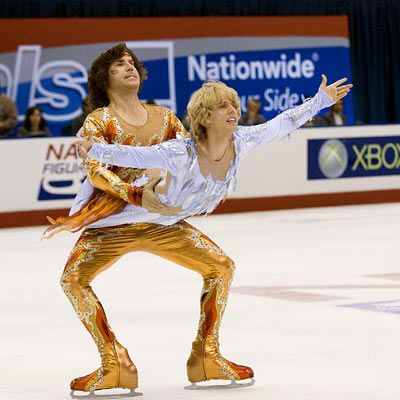 Blades of Glory haha can't help but laugh