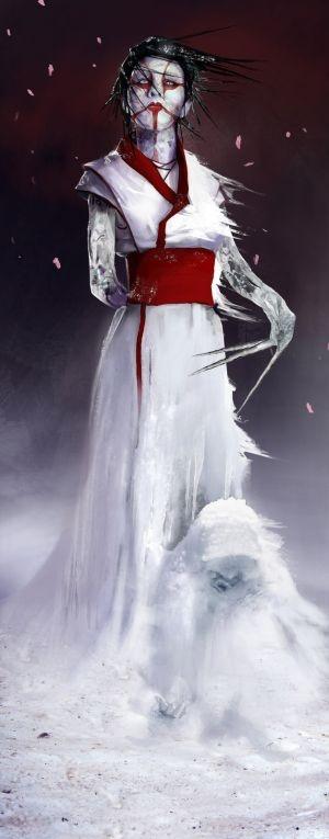Fantasia e ficção científica nas ilustrações de Brenoch Adams - Espírito da neve