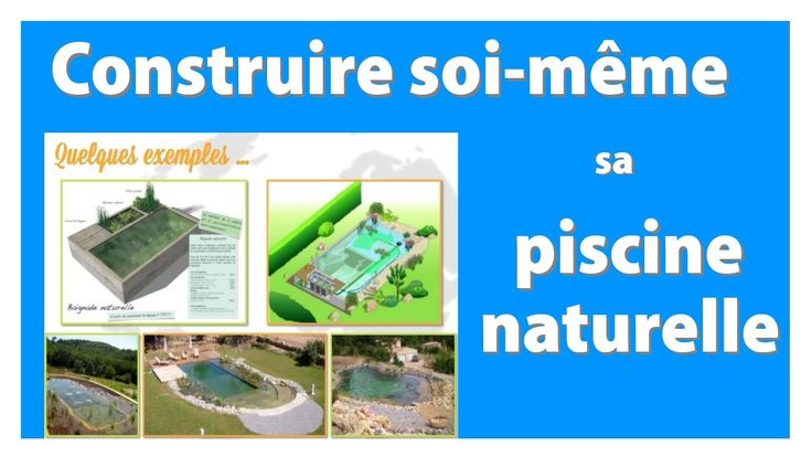 Construire un etang de baignade paysag piscine - Autoconstruction piscine naturelle ...