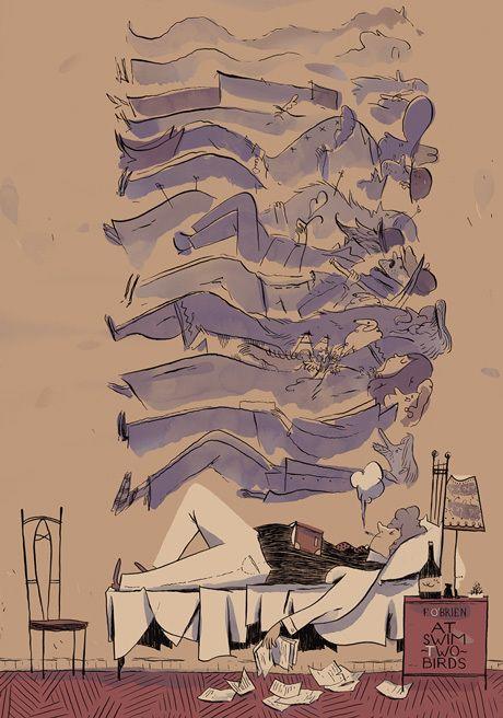 Illustrations 2012 by Roman Muradov, via Behance