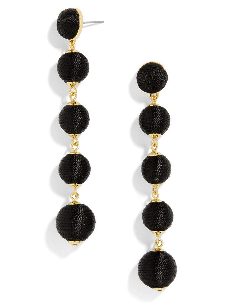 Evelyn Ball Drop Earrings