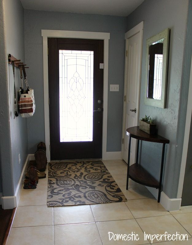 Domestic Imperfection entry way 'After'