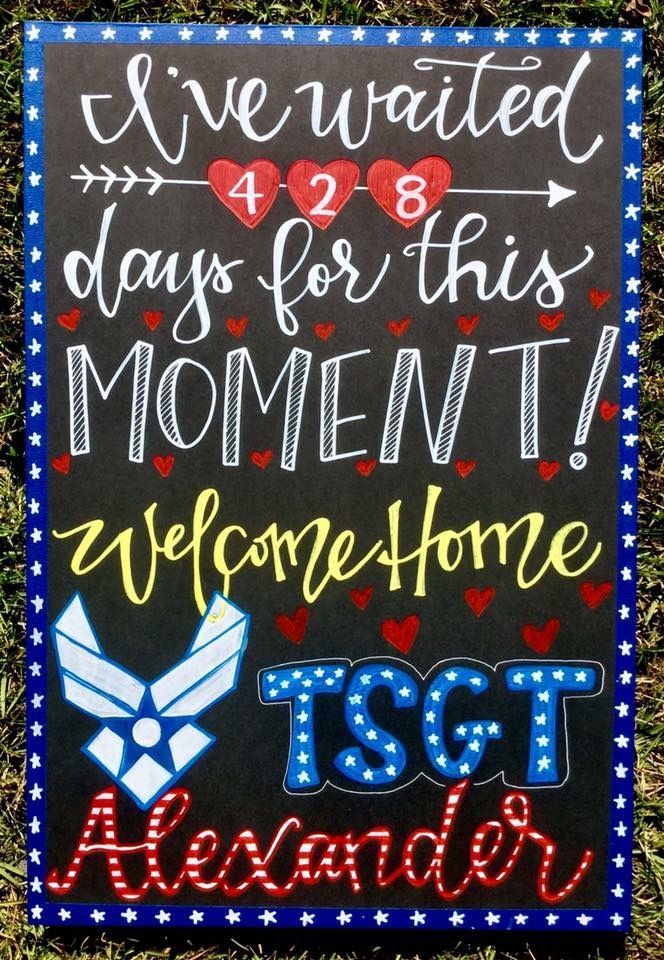 The 25 Best Welcome Home Signs For Military Ideas On
