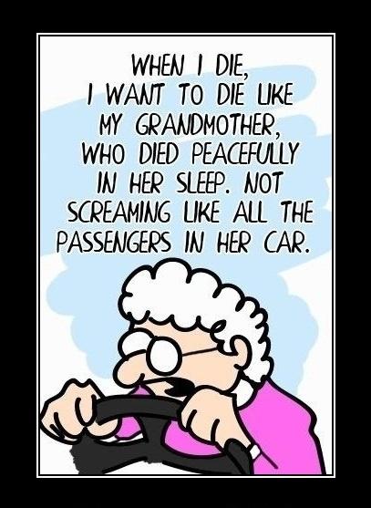 Poor grandma...