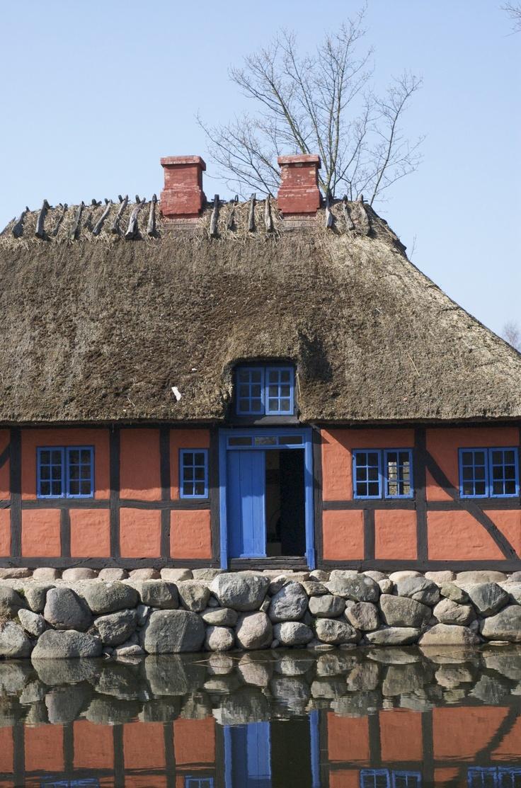 Frilandsmuseet near Copenhagen Denmark